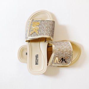 Michael Kors Girls' Zia Eli Road Sandals in Beige